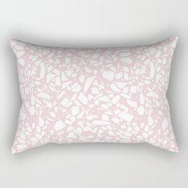 Terrazzo Spot 2 Blush Rectangular Pillow