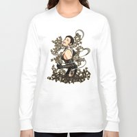 gothic Long Sleeve T-shirts featuring Gothic by Benimarudo