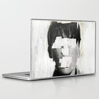 dead Laptop & iPad Skins featuring Faceless | number 02 by FAMOUS WHEN DEAD