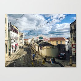 Coffee in Portugal Canvas Print