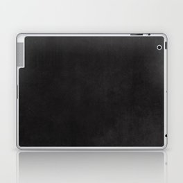 Simple Chalkboard background- black - Autum World Laptop & iPad Skin