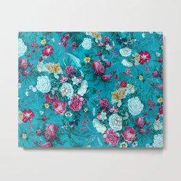 Blue summer garden Metal Print
