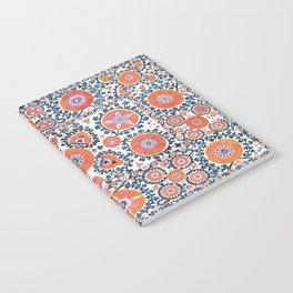 Shakhrisyabz  Suzani  Antique Uzbekistan Print Notebook