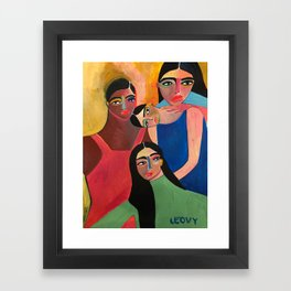 Support System Framed Art Print