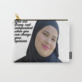 SKAM - Sana Bakkoush - You are strong and indipendent Carry-All Pouch
