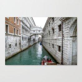 Venezia- Water Main street Canvas Print