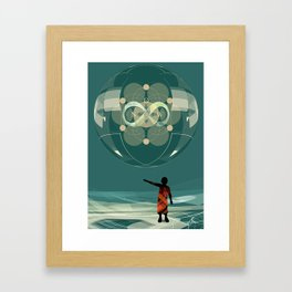 Now Infinite Framed Art Print