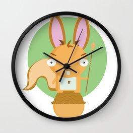 Rabbita Wall Clock