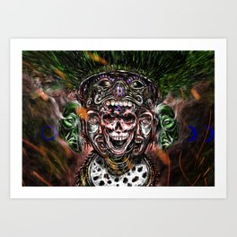 Our lord, the flayed Art Print