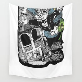 One of those flying dreams Wall Tapestry