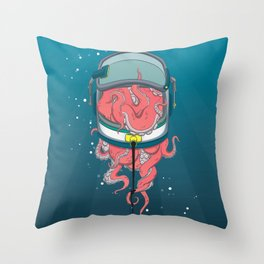 Space Tentacles Throw Pillow