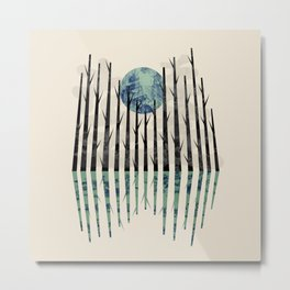 Little black forest Metal Print