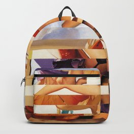 Glitch Pin-Up Redux: Amber Backpack