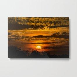 Waco Sun pt.2 Metal Print