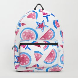 July 4th Watermelon Backpack