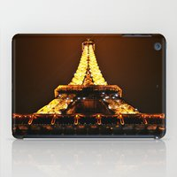 eiffel tower iPad Cases featuring Eiffel Tower by Veronica Ventress