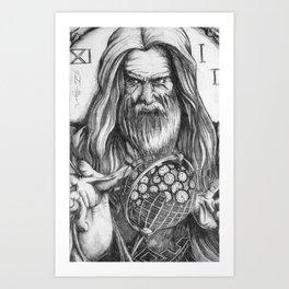 Father Time by Kate Morgan Art Print
