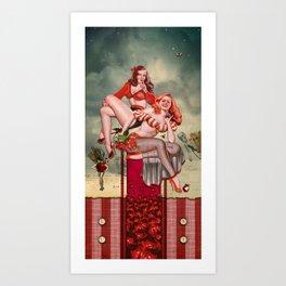 Lust (7 Deadly Sins Series) Art Print