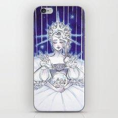 Christmas star iPhone & iPod Skin