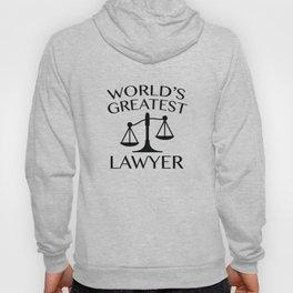 World's Greatest Lawyer Hoody