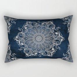 Multiple Artic Mandalas  Rectangular Pillow