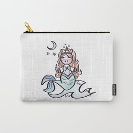 Dawn the Unicorn Mermaid Carry-All Pouch