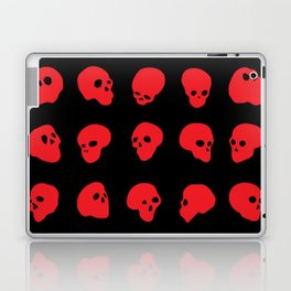 redhead - red on black Laptop & iPad Skin