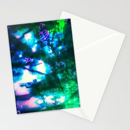 Wildflowers Goth Abstract Stationery Cards