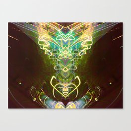 Satyrical Electricity Canvas Print