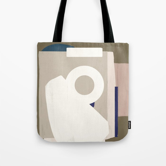Branded Abstract 8 Tote Bag
