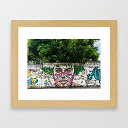 AFH 2018 Street Art Framed Art Print