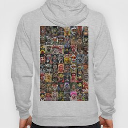 Papua New Guinea Faces Montage Hoody