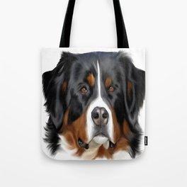 BERNESE MOUNTAIN DOG ART Tote Bag