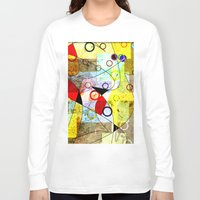 kandinsky Long Sleeve T-shirts featuring Without incident by Kay Weber