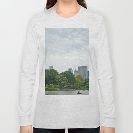 Sunday morning in Central Park NYC Long Sleeve T-shirt