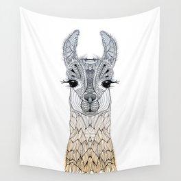 BABY LAMA (CRIA) Wall Tapestry