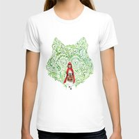 red riding hood T-shirts featuring Red Riding Hood by Stephane Lauzon