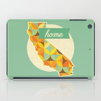 california iPad Cases featuring California by Embellished Key