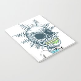 Scientist Bones Notebook