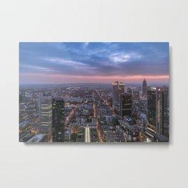 The roads Frankfurt am Main Metal Print