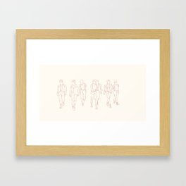 BTS Framed Art Print