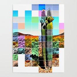 An Abstract Desert I Poster