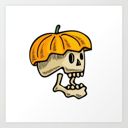 Freaky Halloween Art Print