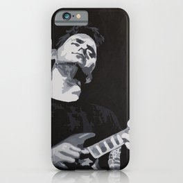 Grayscale John Mayer iPhone Case