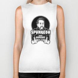 Charles Spurgeon Is My Homeboy Biker Tank