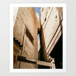 Medina Architecture | Fes | Morocco Art Print