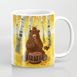 Chocolate cake and the bears Coffee Mug