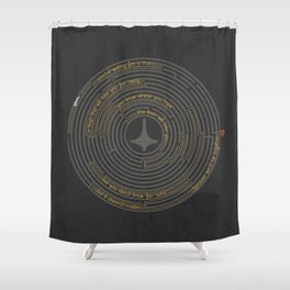 I'll Tell You A Riddle Shower Curtain
