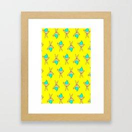 S-cream Framed Art Print