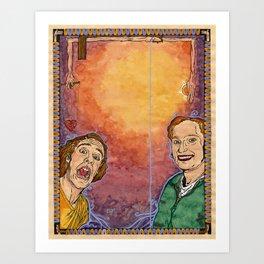 Us And Them (aka. Lovers) Art Print